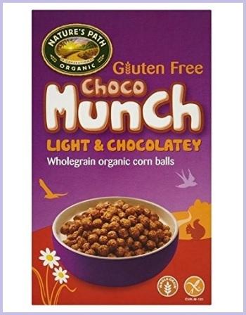Cereali al cioccolato bio senza glutine