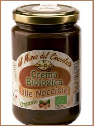 Crema cioccolato e nocciole bio senza glutine