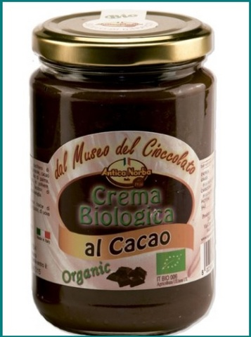 Crema al cioccolato spalmabile senza glutine
