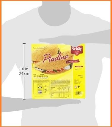 Piadina senza glutine pacco da 3