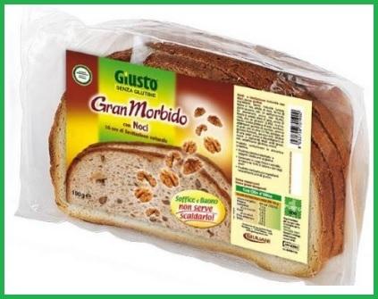 Pane con noci morbido gluten free