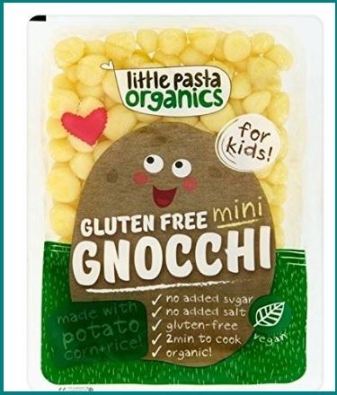 Mini gnocchi di pasta senza glutine