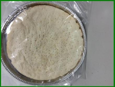 Base per pizza già pronta senza glutine