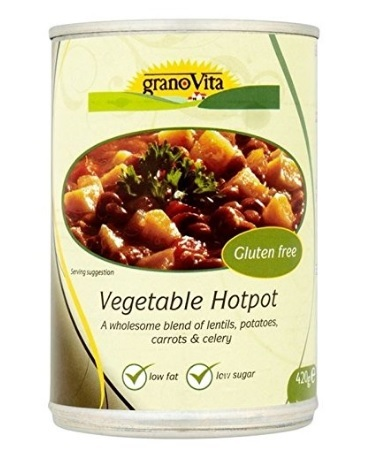 Zuppa verdure senza glutine e vegetariana