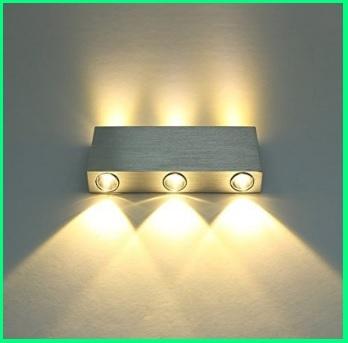 Illuminazione per interni per parete a trio in alluminio