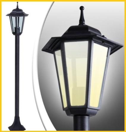 Lampioni per esterni e giardini in metallo