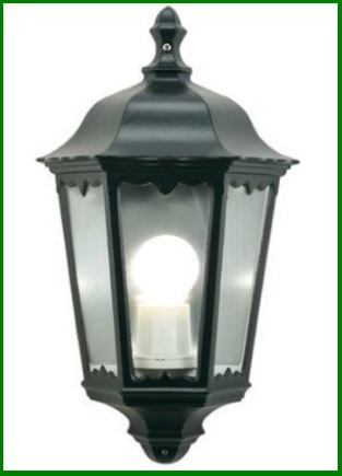Lanterna per esterni struttura in alluminio
