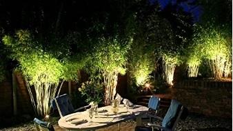 Faretto illuminazione picchetto giardino