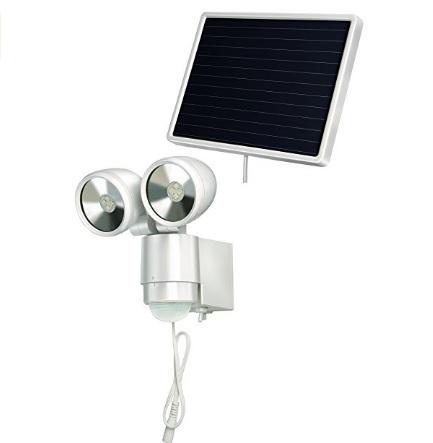 Faretto energia solare con segnalatore di movimento