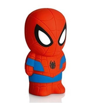 Lampada spiderman led portatile per bambini