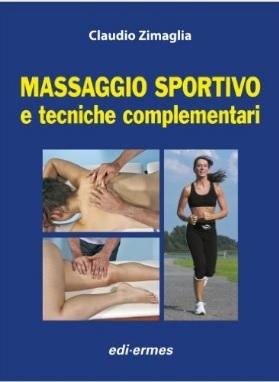 Massaggio sportivo con varie tecniche