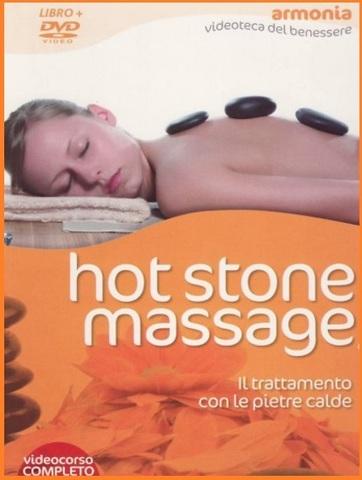 Massaggio hot stone libro con dvd