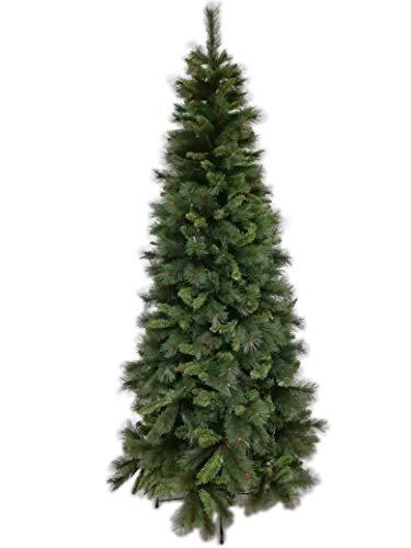 Albero Di Natale H 240.Albero Di Natale Cm 240 Slim Grandisconti