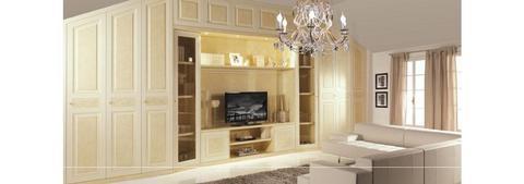 Parete soggiorno classica per mansarda bernazzoli grandi sconti arredamenti a roma qualit e - Parete soggiorno classica ...