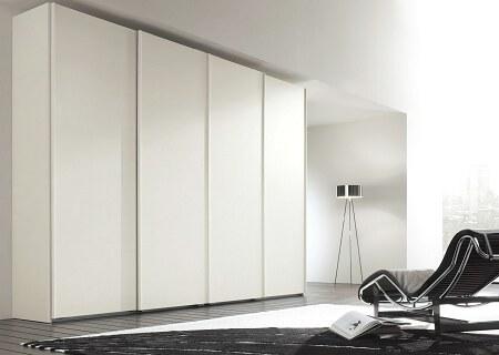 Armadio 2 ante scorrevoli specchio idee per il design for Armadio bianco e specchio