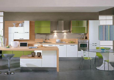 Cucina Bianca E Rovere Interno Di Casa Smepool Com