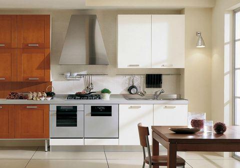 Cucina vetro lucido bianco massello impiallacciato for Ingrosso arredamenti roma