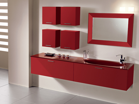 Mobili Bagno Rosso. Best Mobili Bagno Rosso Bordeaux Just Another ...