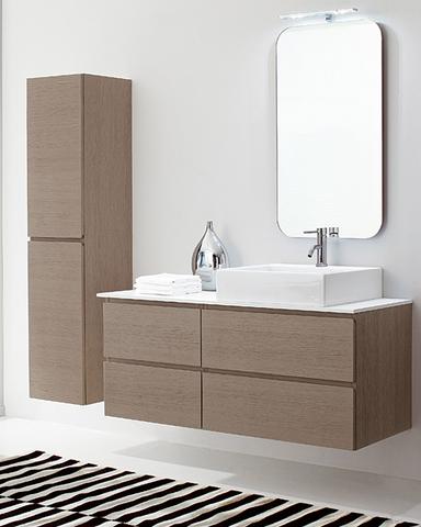 Mobile bagno sospeso con colonna roma