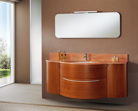 Mobile bagno anta curva marmo rosa lazio grandi sconti arredamenti a roma qualit e convenienza - Mobile bagno usato roma ...