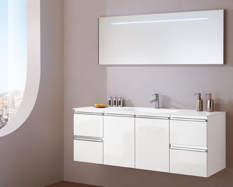 Mobile bagno piano e lavabo incristallo lazio arredi - Mobile bagno usato roma ...