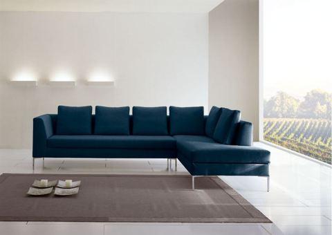 Divano blu petrolio idee per il design della casa for Divina divano