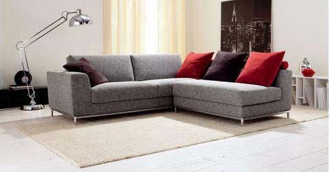 Divano stoffa angolare in offerta roma grandi sconti - Offerta divano angolare ...