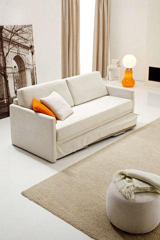 Divano letto bianco roma grandi sconti ingrosso for Divano letto bianco