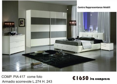 Camera completa armadio ante scorrevoli roma