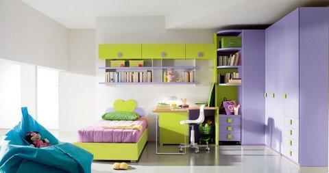 Cameretta Lilla E Verde : Cameretta ragazza lilla e verde rieti sconto del camerette
