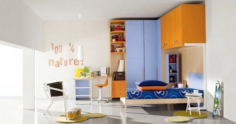 Cameretta Lilla E Arancione : Camerette grandi sconti arredamenti a roma qualità e convenienza