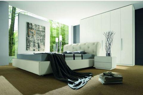 Camera moderna bianca frosinone