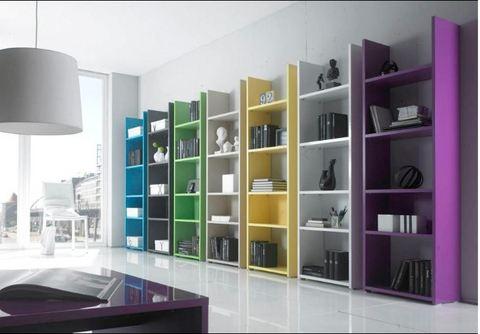 Librerie  vari colori prezzo unico  roma