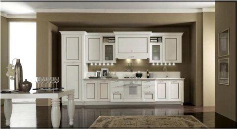 Cucina classica bianca decap roma sconto del 30 for Cucina classica bianca