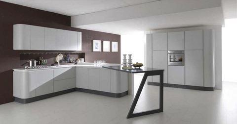 Cucine Moderne Ad Angolo Con Finestra. Interesting Serramenti Ad ...