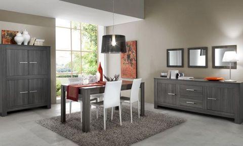 Mobili sala rovere grigio roma
