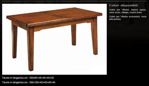 Tavolo in legno economico tecnolegno viterbo
