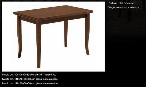 Tavolo classico scontato tecnolegno roma