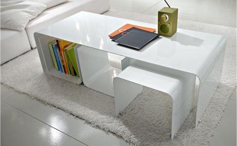 Tavolino laccato due misure mobilgam terni