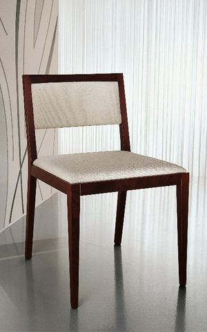 Sedia senza braccioli mobilgam roma