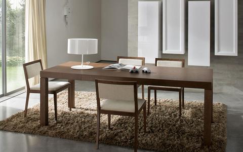 Tavolo e sedie in frassino mobilgam lazio