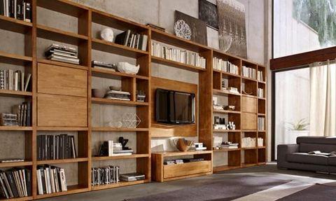 Libreria Porta Tv Legno.Libreria In Legno Porta Tv Roma Grandi Sconti