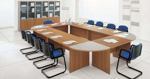 Arredo sala conferenza zg roma