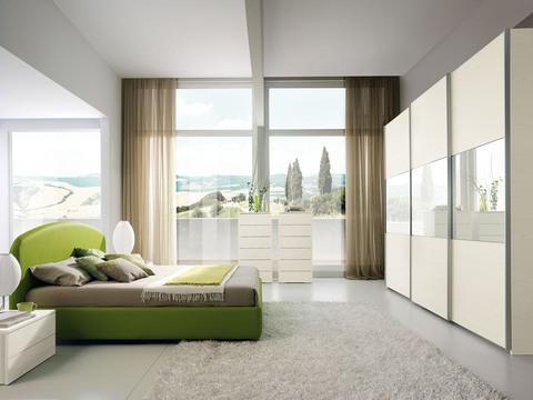 Immagine camera da letto bianca valentini viterbo grandi for Ingrosso arredamenti roma