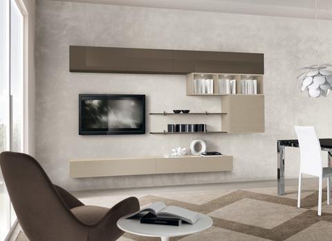 Mobile soggiorno con luci valentini civitavecchia grandi - Luci soggiorno moderno ...