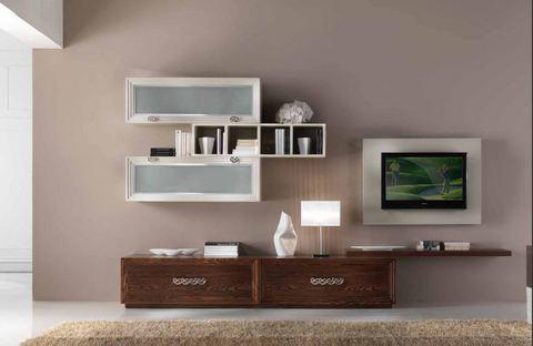 Pannello Porta Tv Orientabile Prezzi.Mobile Giorno Classico Con Pannello Porta Tv Orientabile