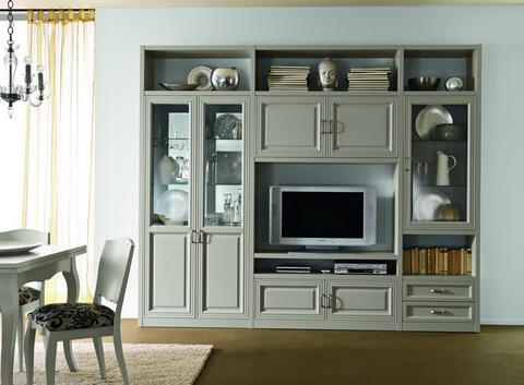 Mobile classico per soggiorno colore avorio frosinone | Grandi ...