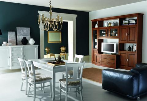 Arredare un soggiorno in stile classico terni grandi for Ingrosso arredamenti roma
