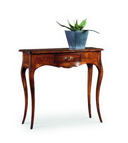 Tavolino consolle legno lucido stile classico alpe lazio