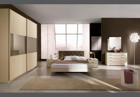 Camera moderna in larice finitura bianca civitavecchia